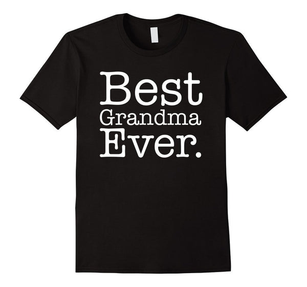 Best Grandma Ever Great Grandma Gifts Mother's Day TShirt-T-Shirt-BelDisegno-Black-S-BelDisegno