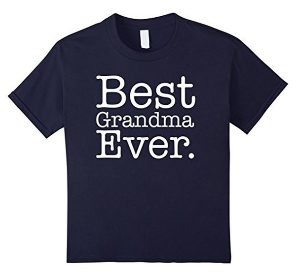 Best Grandma Ever Great Grandma Gifts Mother's Day TShirt-T-Shirt-BelDisegno-Navy-S-BelDisegno