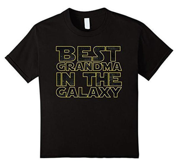 Best Grandma Ever in the Galaxy Funny T-shirt Default Title T-Shirt BelDisegno