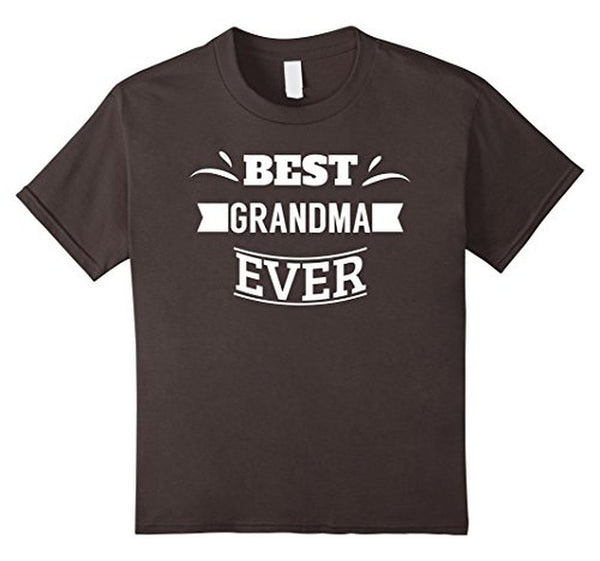 Best Grandma Ever T great grandma gifts T-shirt Asphalt / XL T-Shirt BelDisegno