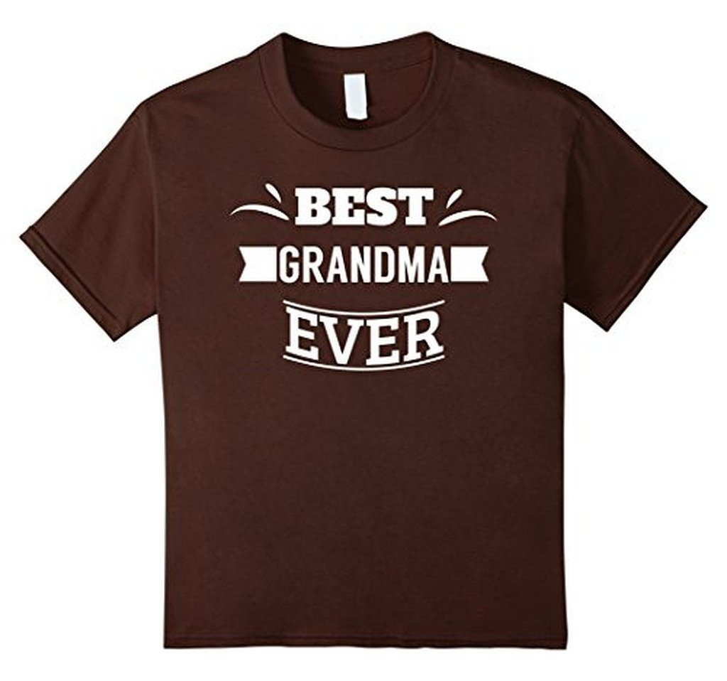 Best Grandma Ever T great grandma gifts T-shirt Brown / XL T-Shirt BelDisegno