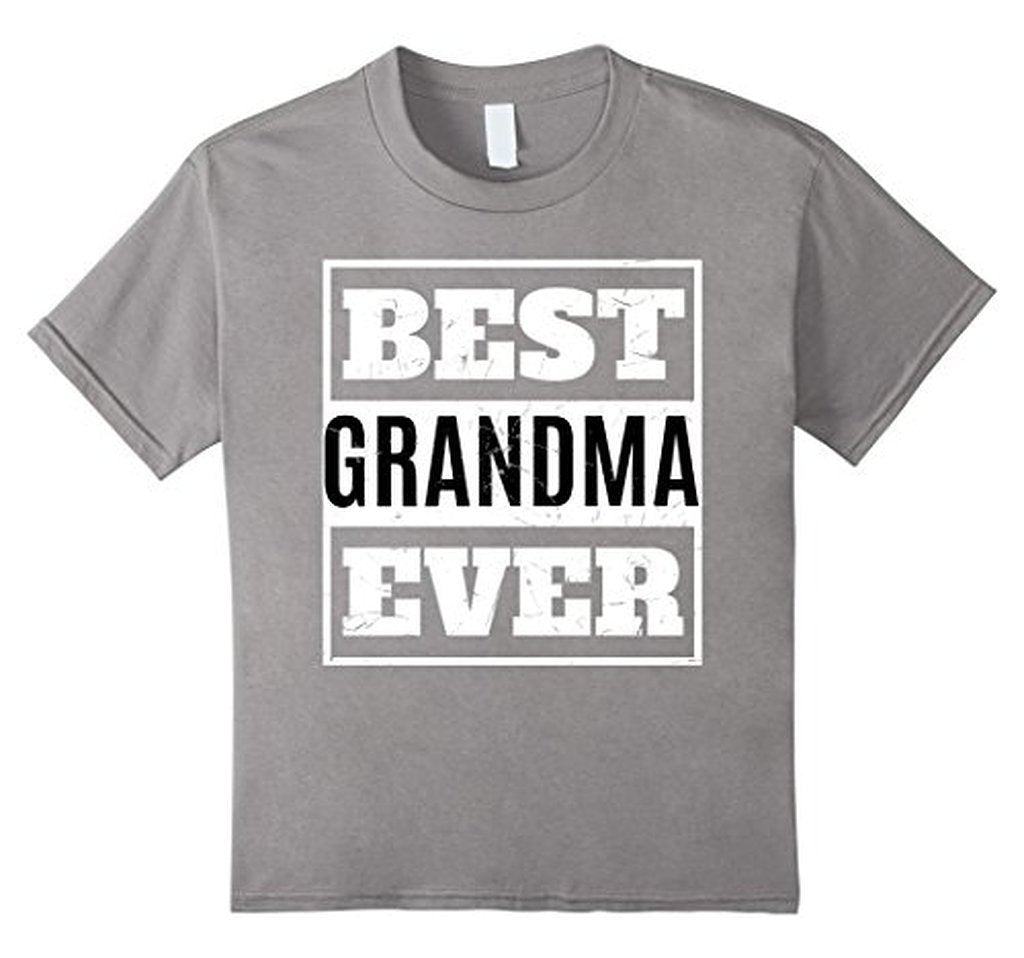 Best Grandma Ever T great grandma gifts T-shirt Color: Heather GreySize: S
