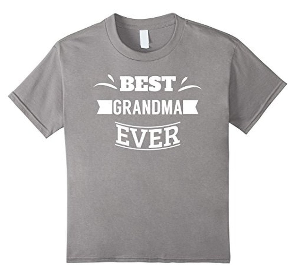 Best Grandma Ever T great grandma gifts T-shirt Heather Grey / XL T-Shirt BelDisegno