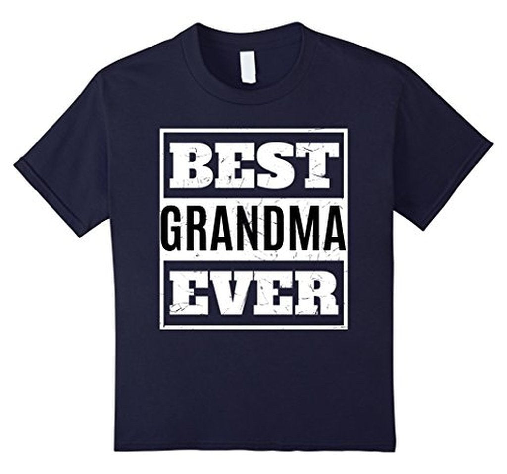 Best Grandma Ever T great grandma gifts T-shirt Color: NavySize: S