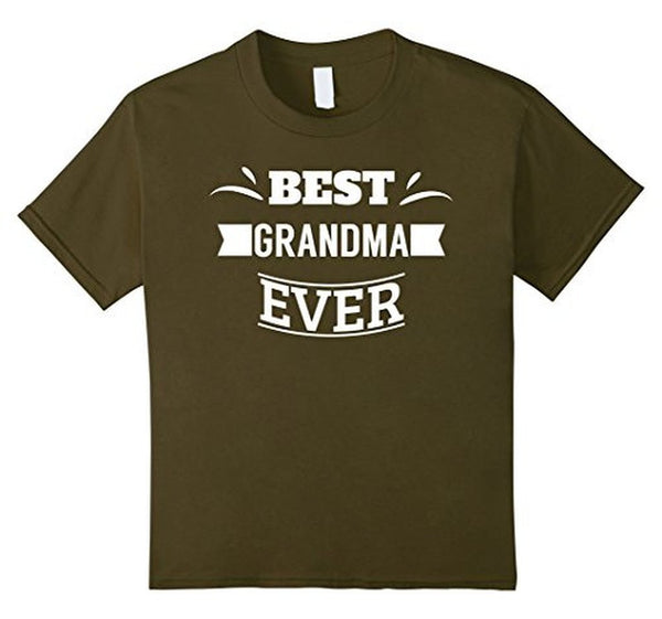 Best Grandma Ever T great grandma gifts T-shirt Olive / XL T-Shirt BelDisegno