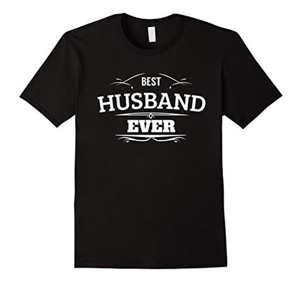 Best Husband Ever T Funny Wedding Married Man Tee Gift T-shirt Black / 3XL T-Shirt BelDisegno