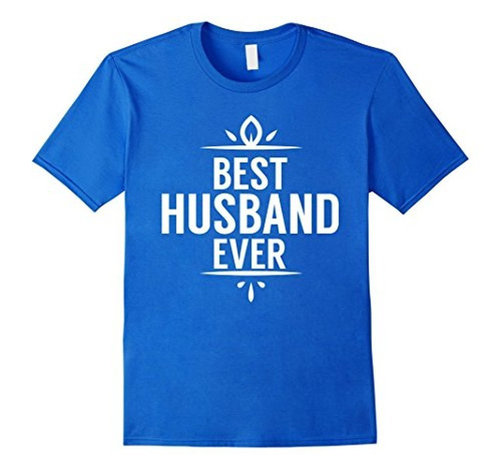 Best Husband Ever T Funny Wedding Married Man Tee Gift T-shirt Color: Royal BlueSize: S