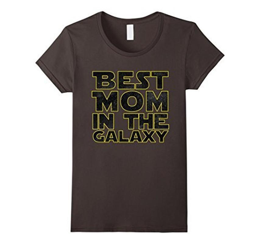Best Mom in the Galaxy Funny T-shirt  T-Shirt BelDisegno