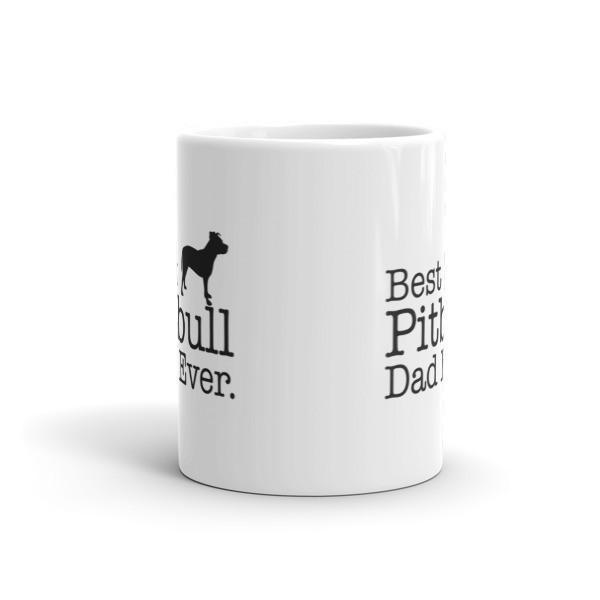 Best Pitbull Dad Ever Coffee Mug  Mug BelDisegno