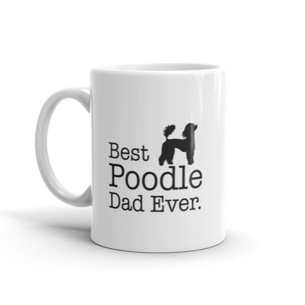 Best Poodle Dad Ever Dog Lovers Gift Coffee Mug  Mug BelDisegno