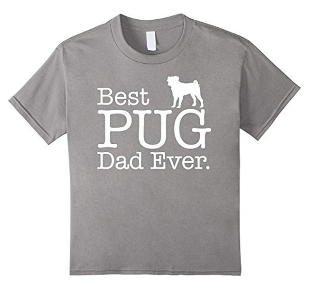 Best PUG Dad Ever Funny Pet Kitten Animal Parenting T-shirt