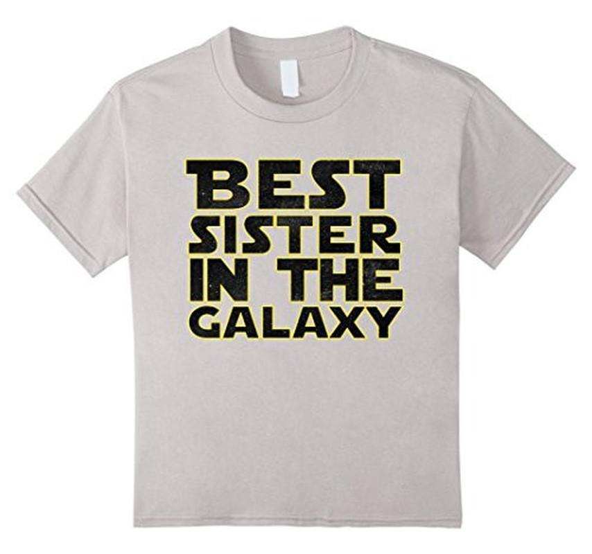 Best Sister in the Galaxy Cool and Funny T-shirt  T-Shirt BelDisegno
