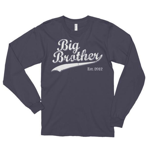 Big Brother Est 2012 T-shirt Asphalt / 2XL T-Shirt BelDisegno