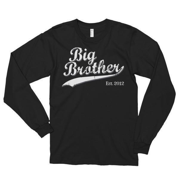Big Brother Est 2012 T-shirt Black / 2XL T-Shirt BelDisegno