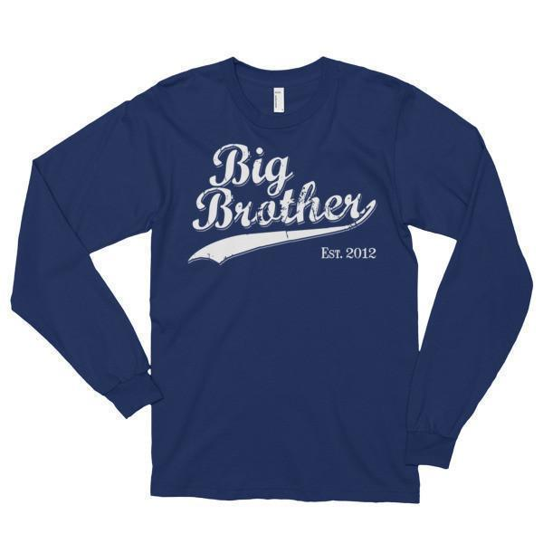 Big Brother Est 2012 T-shirt Navy / 2XL T-Shirt BelDisegno