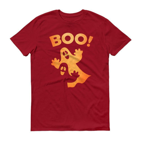 boo ghost shirt Funny Halloween shirt-T-Shirt-BelDisegno-Independence Red-S-Men-BelDisegno