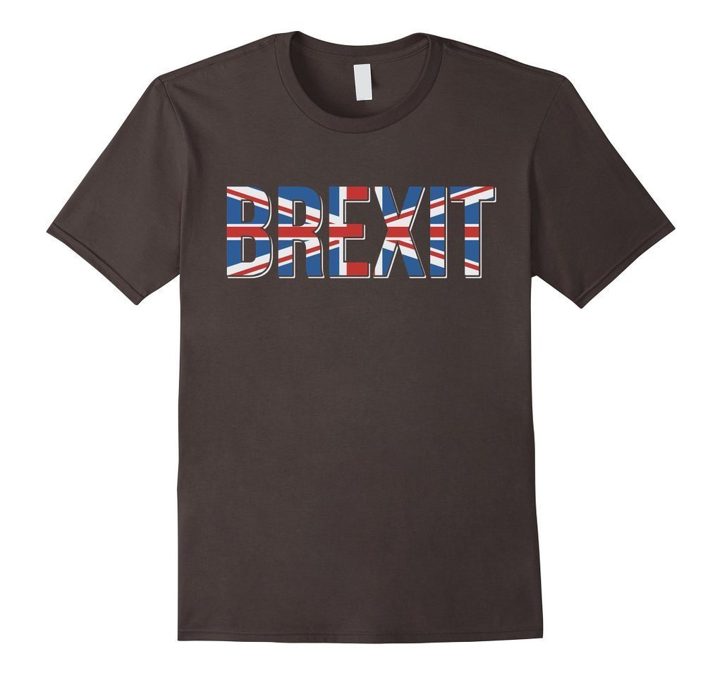 Brexit Eurosceptic Anti European Union Vote Brexit T-shirt asphalt / XL / Women T-Shirt BelDisegno