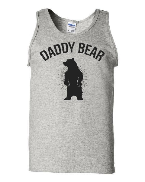 Daddy Bear Tank Top Ash / 2XL Tank Top BelDisegno