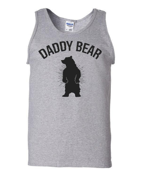 Daddy Bear Tank Top Sport Grey / 2XL Tank Top BelDisegno