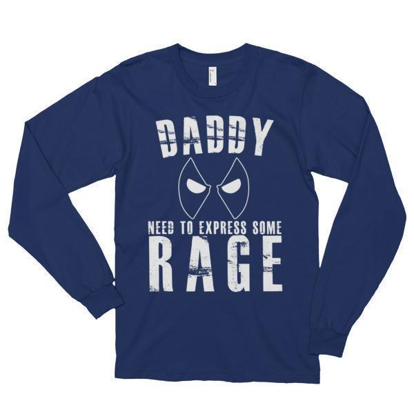 Daddy Need to Express Some Rage Funny (unisex) TShirt-T-Shirt-BelDisegno-Navy-S-BelDisegno