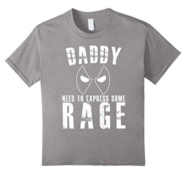 Daddy Needs To Express Some Rage Daddy father day gift TShirt-T-Shirt-BelDisegno-Heather Grey-S-BelDisegno