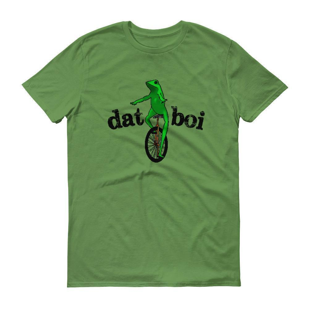 Dat Boi Unicycle Frog TShirt-T-Shirt-BelDisegno-Green Apple-S-Men-BelDisegno