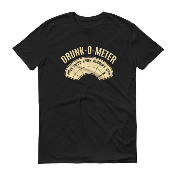 DrunkoMeter Shirt Men's funny drinking shirt for st Patrick Cinco De Mayo Halloween-T-Shirt-BelDisegno-Black-S-BelDisegno