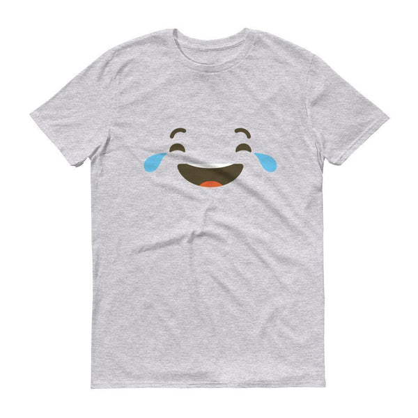 Emoji Shirt Heather Grey / 3XL T-Shirt BelDisegno