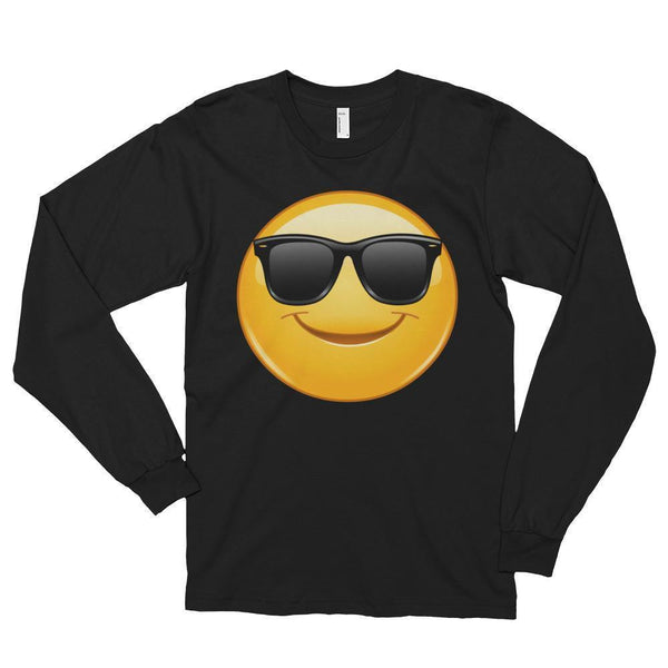 Emoji Sunglasses T-shirt Black / 2XL T-Shirt BelDisegno