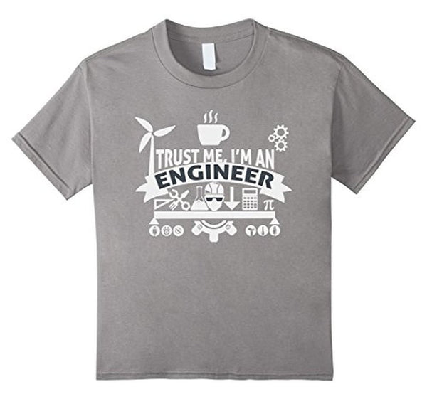 engineer trust me T-shirt Heather Grey / XL / Women T-Shirt BelDisegno