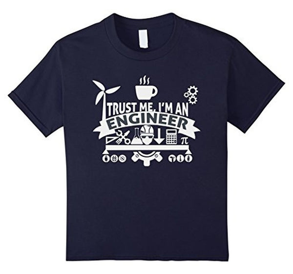 engineer trust me T-shirt Navy / XL / Women T-Shirt BelDisegno