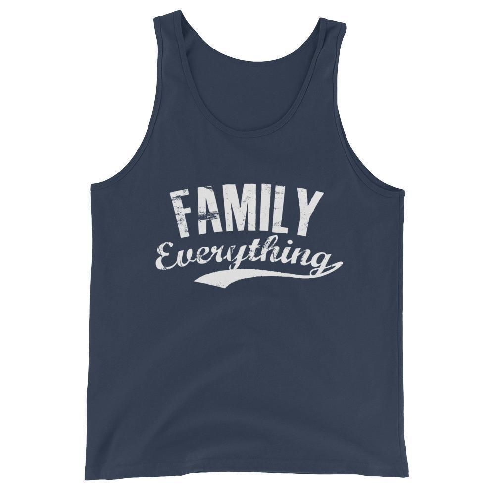 buy Family Everything Tank Top Family lovers gifts online at BELDISEGNO for just $25.00 | Color Navy | Size XS