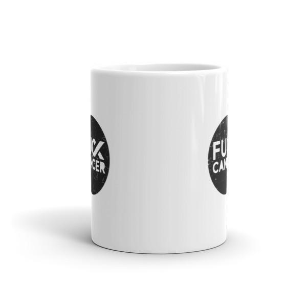 Fck Cancer Funny Coffee Mug cancer gifts for him or her  Mug BelDisegno