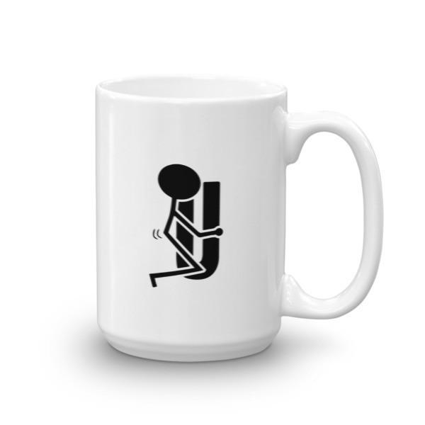 Fck You Funny Coffee Mug 15oz Mug BelDisegno