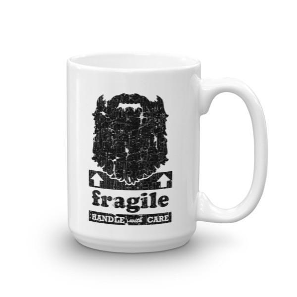 Fragile Coffee Mug 15oz Mug BelDisegno