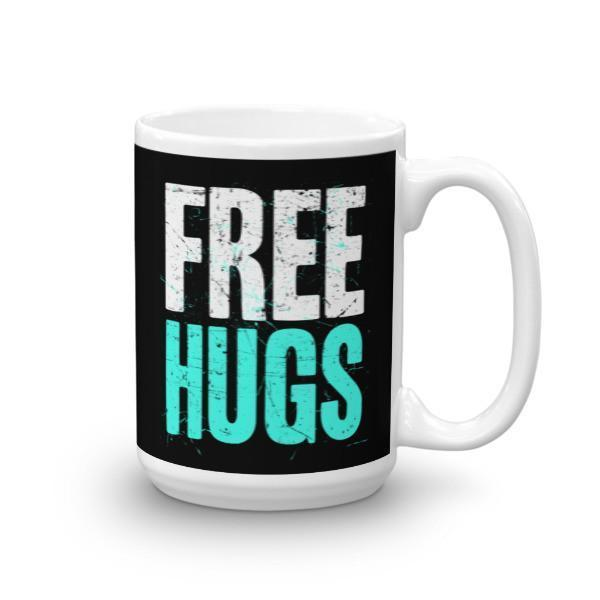 Free Hugs Coffee Mug 15oz Mug BelDisegno