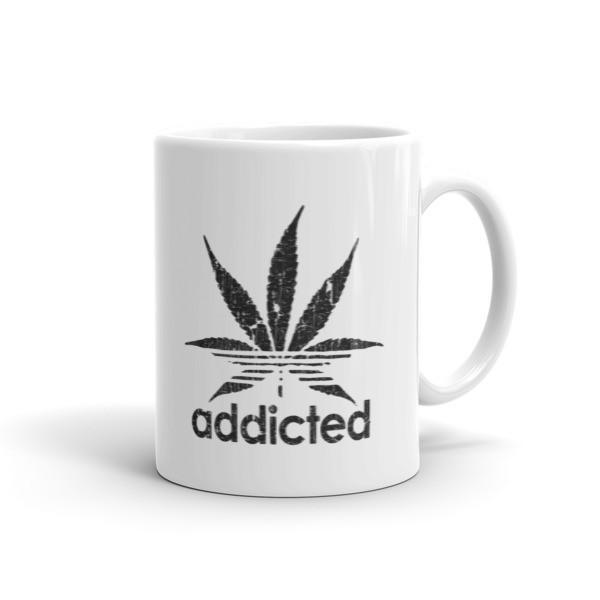 Funny Addicted Coffee Mug-Mug-BelDisegno-11oz-BelDisegno