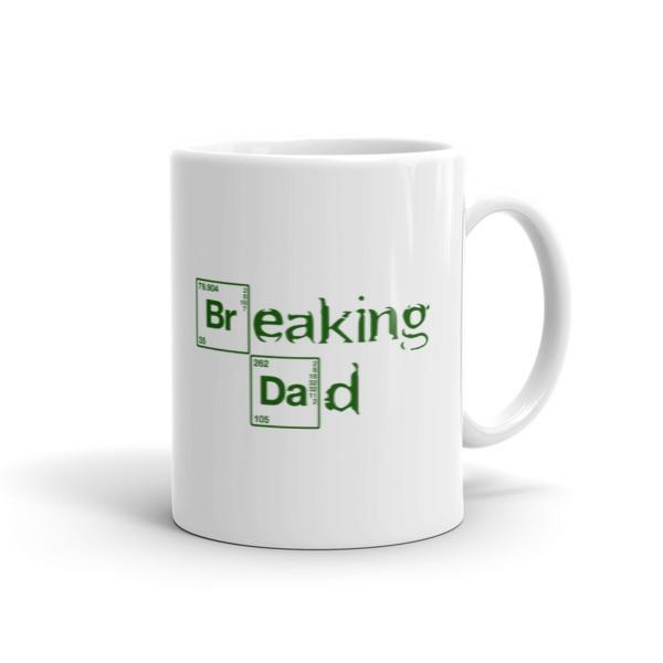 Funny Breaking Dad Coffee Mug 11oz Mug BelDisegno