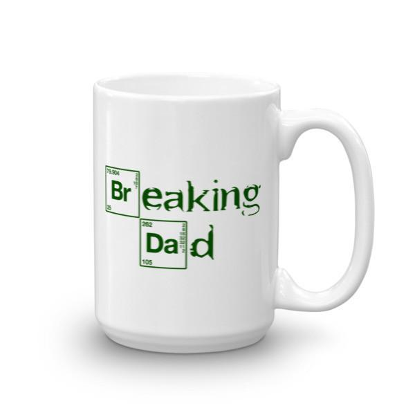 Funny Breaking Dad Coffee Mug 15oz Mug BelDisegno