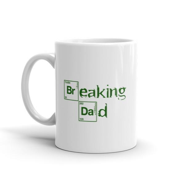 Funny Breaking Dad Coffee Mug  Mug BelDisegno