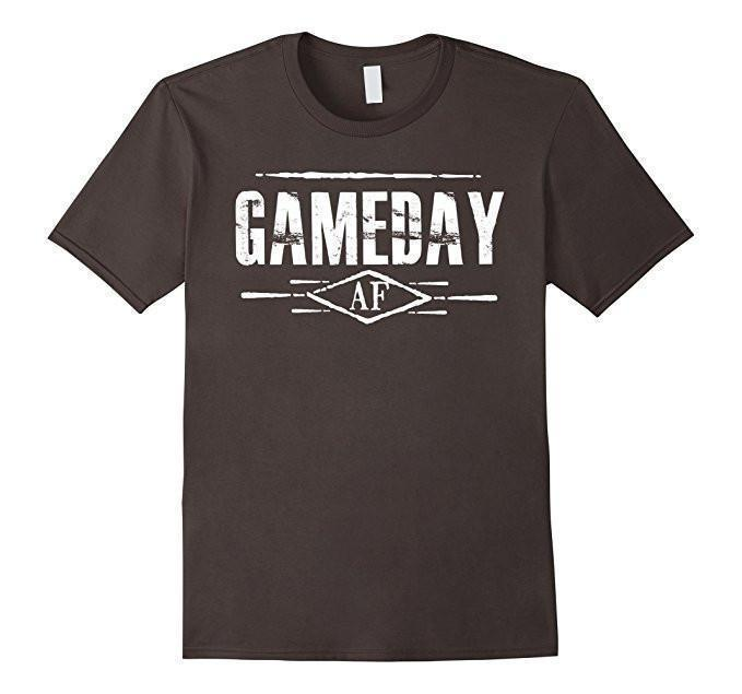 Gameday AF Women Men T-shirt Asphalt / 3XL T-Shirt BelDisegno