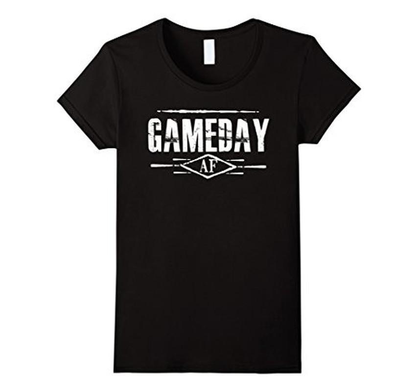 Gameday AF Women Men T-shirt Black / 3XL T-Shirt BelDisegno