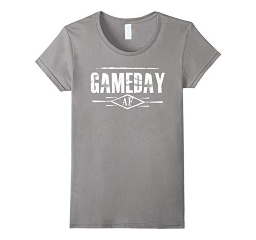 Gameday AF Women Men T-shirt Heather Grey / 3XL T-Shirt BelDisegno