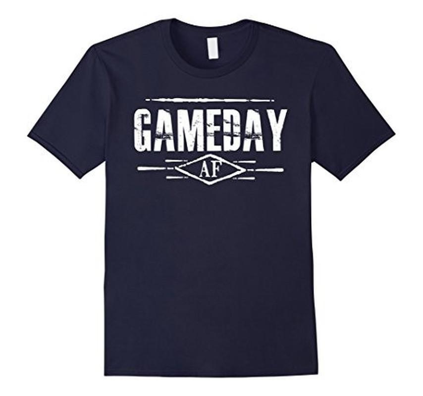 Gameday AF Women Men T-shirt Navy / 3XL T-Shirt BelDisegno