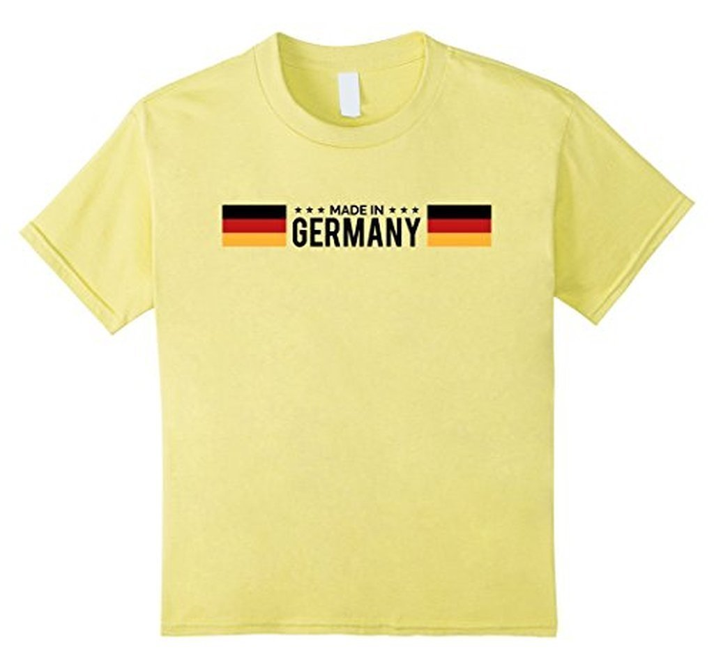 Germany Flag Germany Funny Novelty s T-shirt Lemon / 3XL T-Shirt BelDisegno