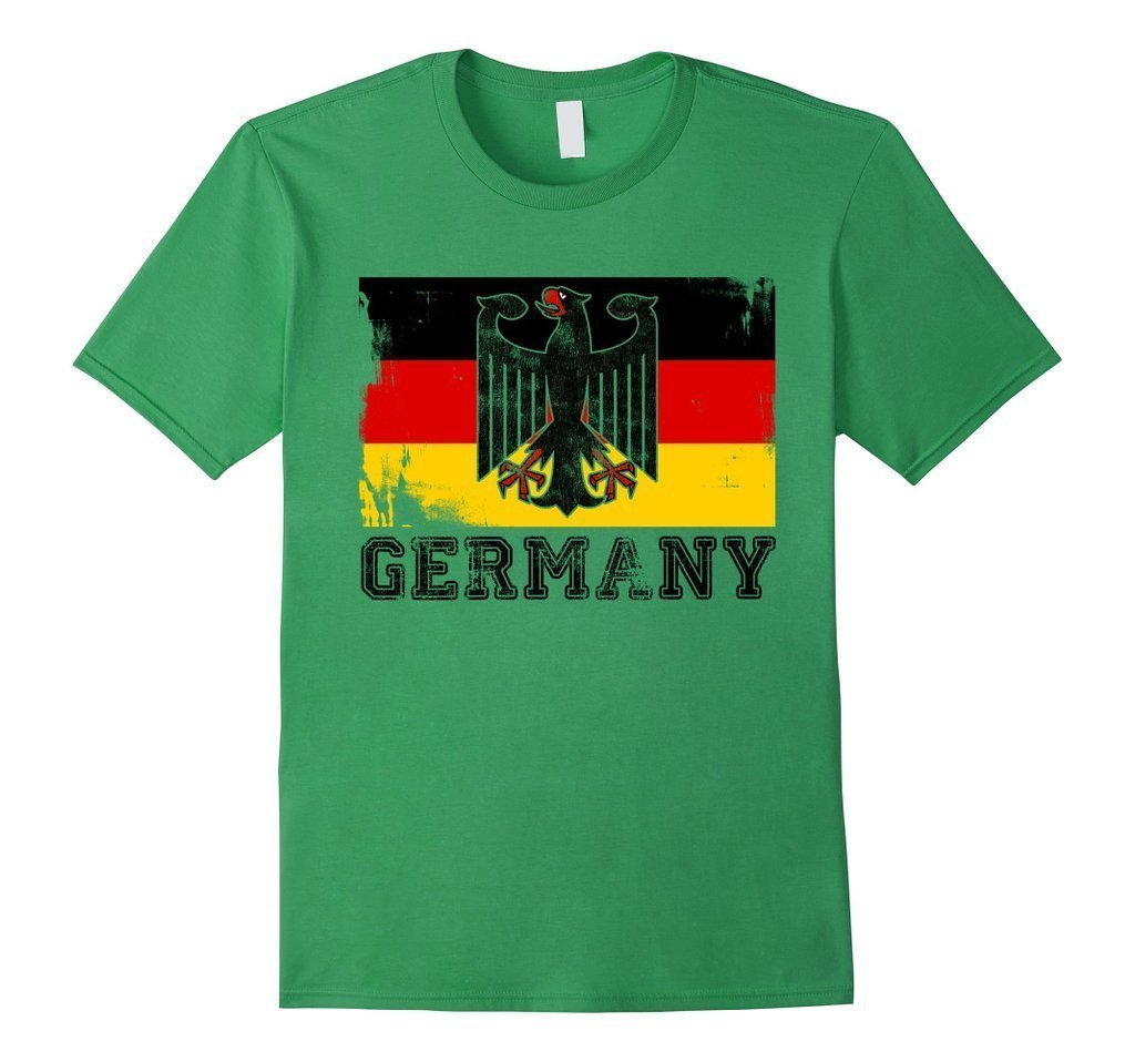 Germany Flag T-shirt Grass / 3XL T-Shirt BelDisegno