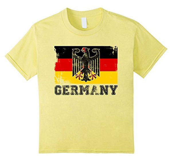 Germany Flag T-shirt Lemon / 3XL T-Shirt BelDisegno