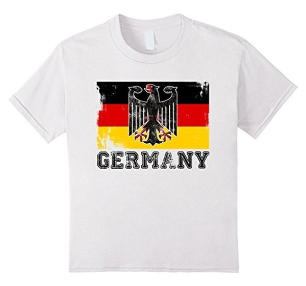 Germany Flag T-shirt White / 3XL T-Shirt BelDisegno