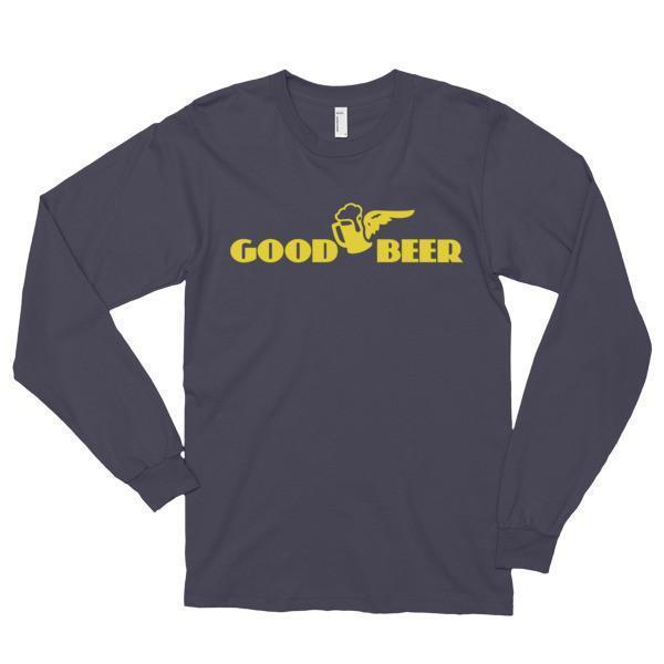 Good Beer instead of Good Year Funny T-shirt Asphalt / 2XL T-Shirt BelDisegno