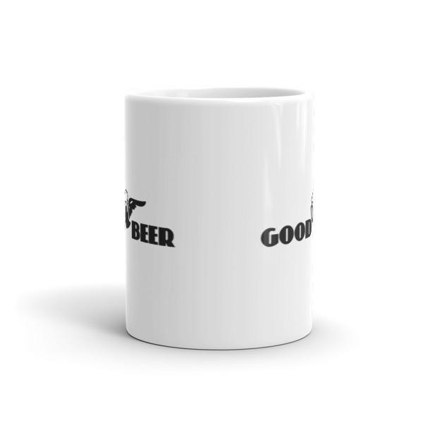 Good Beer Insted of good Year Coffee Mug  Mug BelDisegno